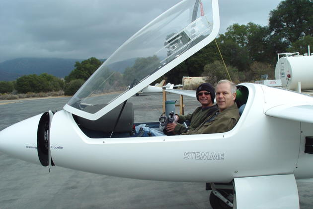 Getting ready to launch with Garret Willat in the Stemme S10-VT at Warner Springs, CA.